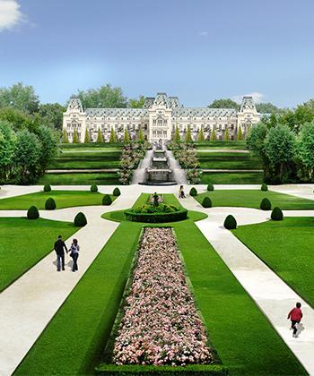 Grădina Palas – cea mai mare investiţie privată din România într-un spaţiu cu destinaţie publică