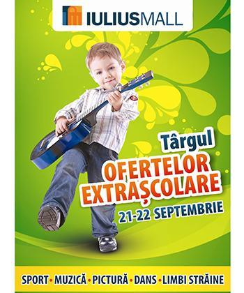 Iulius Mall organizează primul târg al ofertelor extrașcolare din Iași