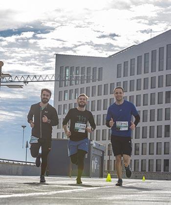 Companiile de IT din ansamblul Openville au participat la un altfel de team building, într-o competiţie sportivă marca Alergotura