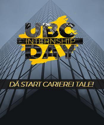 """CAUŢI UN INTERNSHIP ÎNTR-O COMPANIE DE TOP? PE 19 FEBRUARIE, LA PALAS VA AVEA LOC """"UBC INTERNSHIP DAY"""""""