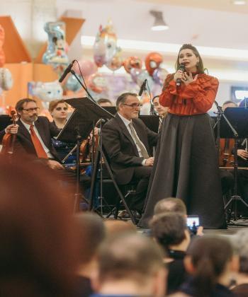 Concert al Filarmonicii Botoșani, cadoul muzical oferit sucevenilor de Iulius Mall