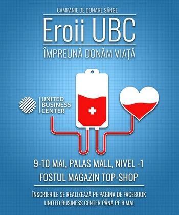 Peste 140 de angajați din clădirile de birouri de la Palas s-au implicat într-o campanie umanitară și au donat sânge