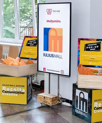 """Iulius Mall susține campania de donare de sânge """"Recolta Comunităților Creative"""""""