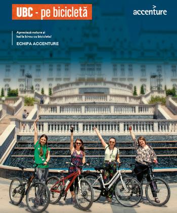 UBC pe bicicletă