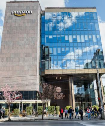 Clădirea de birouri United Business Center 5 din ansamblul Palas Iași, certificată LEED Gold