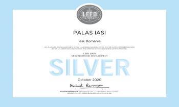 Ansamblul Palas Iași, al companiei IULIUS, singurul proiect certificat LEED® Neighborhood Development din Europa Centrală și de Est