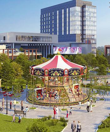 Parcul Openville va include un lac şi un carusel pentru copii