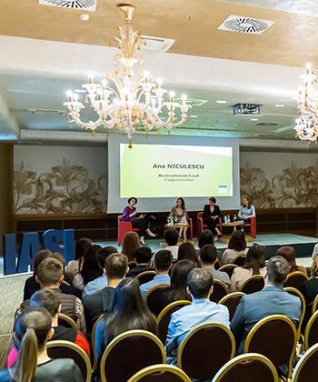 Studenții din Iași pot descoperi cum se lucrează în 18 mari companii, în Săptămâna Porților Deschise în United Business Center Palas Iași