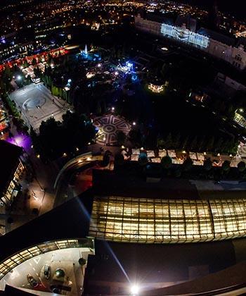 Vreţi să vedeţi Palatul Culturii cum nu l-aţi văzut niciodată? Sâmbătă, în Parcul Palas are loc Lightup Festival, competiţie internaţională de video mapping